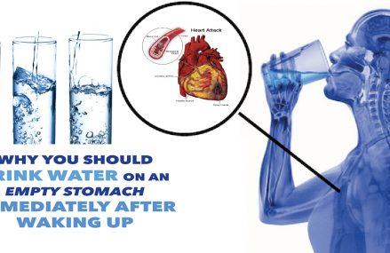 Why You Should Drink Water  Immediately After Waking Up!