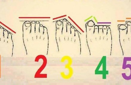 Toes Say a Lot About Your Future, and Personality: See How the Length Determines Whether You?ll be Rich and Happy!
