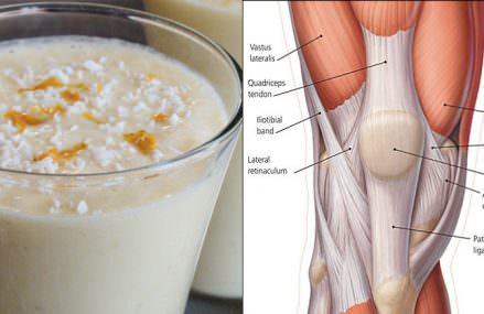 Cinnamon Pineapple Smoothie to Strengthen Knee Ligaments And Tendons