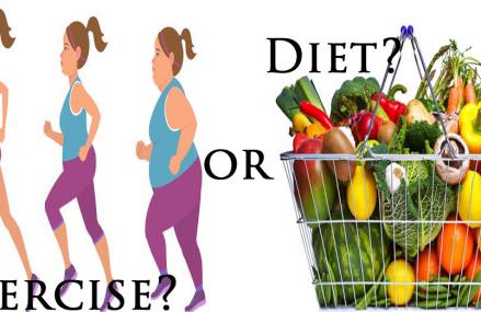 Research Suggests That Diet is More Effective than Exercise