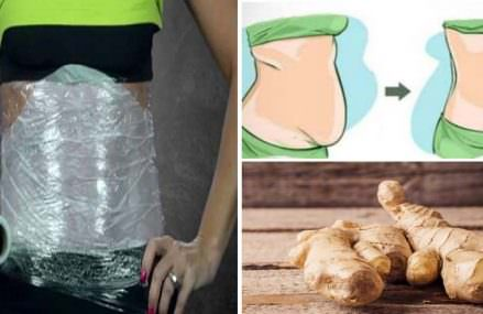 A Ginger Compress That Will Reduce Your Waist Immediately