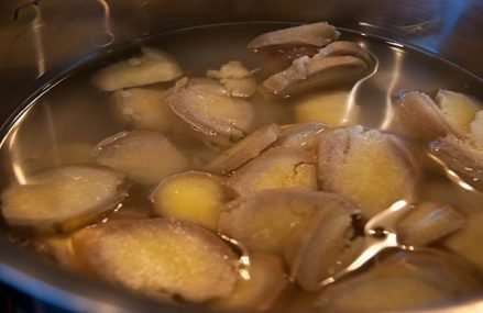 Ginger Water – Recipe to Lose Weight, Burn Fat on Waist, Hips, Thighs