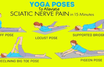 Only 15 Minutes Of These Yoga Exercises And You Will Soothe Your Pain