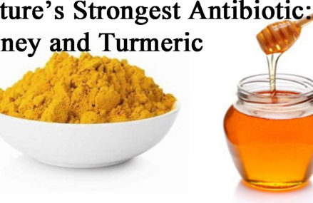 Turmeric And Honey ? The Strongest Antibiotic From Nature