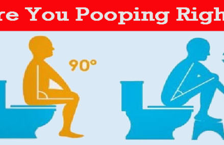 You are pooping the wrong way and don't even know it!