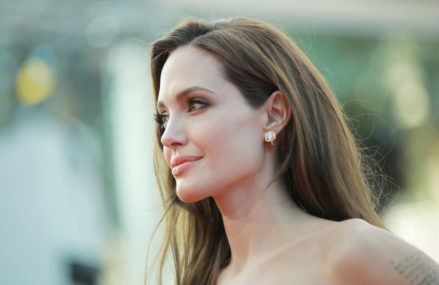 Angelina Jolie's Facial Paralysis