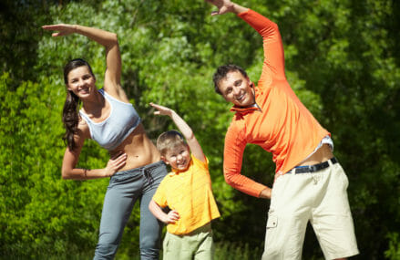 10 Tips: Be an Active Family